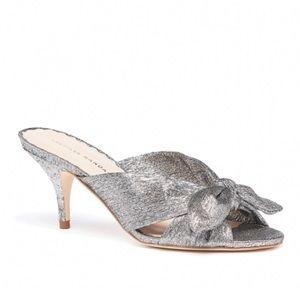 Loeffler Randall | Luisa Knotted Heel in Silver